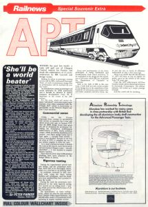 RAILNEWS November 1980 Special Souvenir Extra